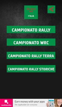 The Rally App - Italia poster