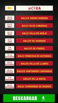 The Rally App - España poster