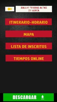 The Rally App - España apk screenshot