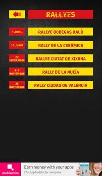 The Rally App - Valencia apk screenshot
