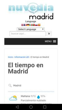 Turismo Madrid Nuvedia FREE apk screenshot