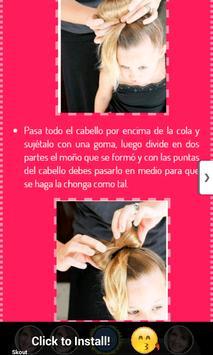 Tutoriales de Peinados apk screenshot