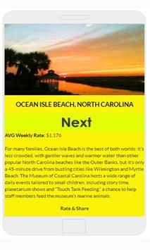 Beach destinations USA apk screenshot