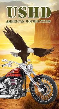 USHD American Motorcycles poster