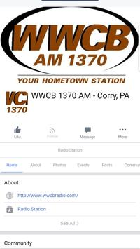 WWCB RADIO Cartaz