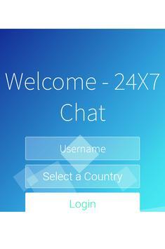24x7 Chat screenshot 2
