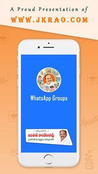 YSRCP WhatsApp Groups poster