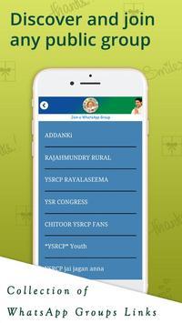 YSRCP WhatsApp Groups screenshot 2