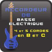 Accordeur de basse 4et5 cordes icon