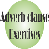 adverb clause exercises icon