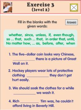 adverb clause exercises screenshot 2