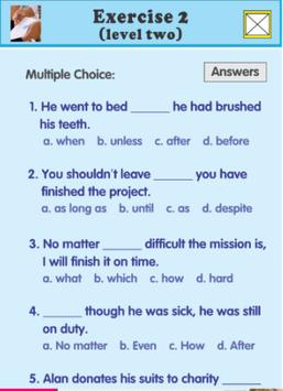 adverb clause exercises screenshot 4
