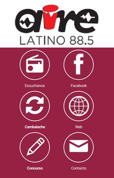 Aire Latino 88.5 poster