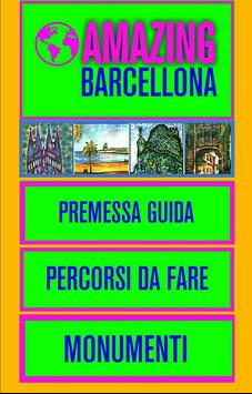 Barcellona Guida poster