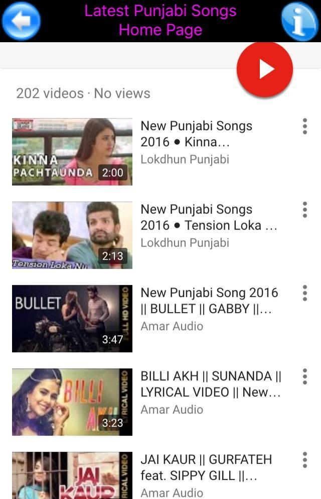 Latest Punjabi Songs Video for Android - APK Download