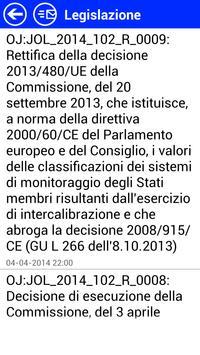 Gazzetta Ufficiale UE Italiano apk screenshot