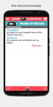 Slangtionary. Slang from Spain apk screenshot