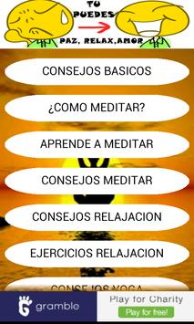 Relaxation Meditation Yoga apk screenshot