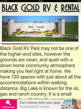 Black Gold RV Parks apk screenshot