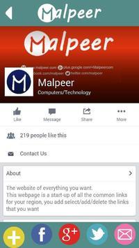 Malpeer apk screenshot