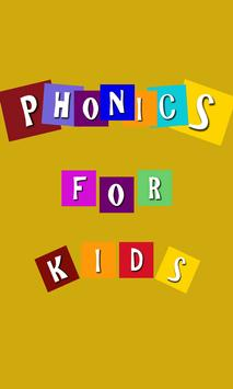 Phonics For Children poster