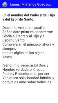 Cómo rezar el Rosario apk screenshot