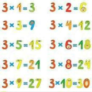 Multiplication Tables screenshot 3