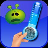 Temperature Thermometer joke icon