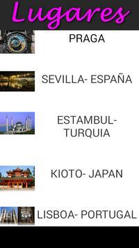 Guia turista 10 ciudades mundo apk screenshot