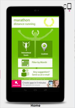 marathon running- marathon app screenshot 1