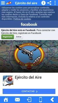 Accesos Ejército del Aire screenshot 6