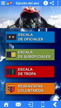 Accesos Ejército del Aire screenshot 1