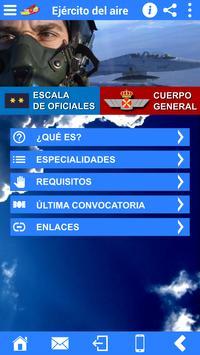 Accesos Ejército del Aire screenshot 2