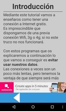 Free Internet 3g screenshot 1