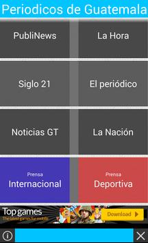 Periódicos de Guatemala apk screenshot