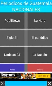 Periódicos de Guatemala poster
