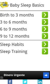 Baby Sleep Basics poster