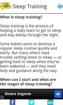 Baby Sleep Basics apk screenshot