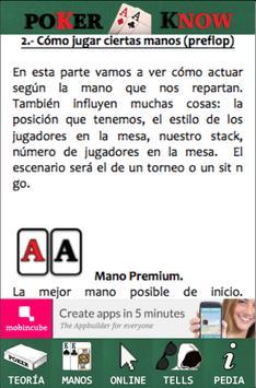 Poker Know apk screenshot
