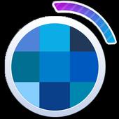 Wallpaper blue screen icon