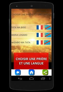 LOSAMBO: lingala prières Congo screenshot 3