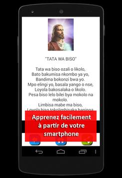LOSAMBO: lingala prières Congo screenshot 4