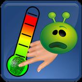 temperatura termometro scherzo icon
