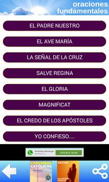ORACIONES CATOLICAS 2.0 apk screenshot