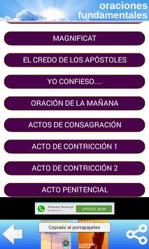 ORACIONES CATOLICAS 2.0 screenshot 2