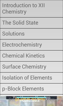 CBSE XII Chemistry Academy screenshot 3