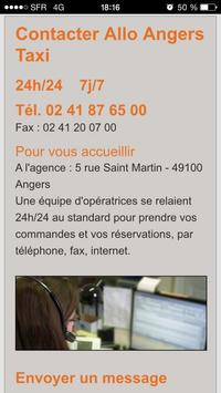 Allo Angers Taxi screenshot 1