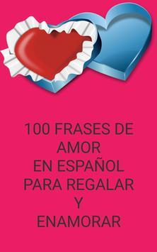 100 phrases of Love in spanish poster