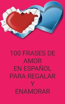 100 phrases of Love in spanish poster