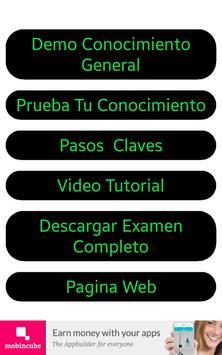 Cdl Conocimiento General Demo screenshot 5